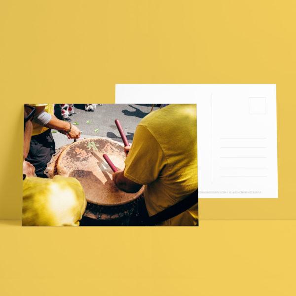 Postcard - Drum