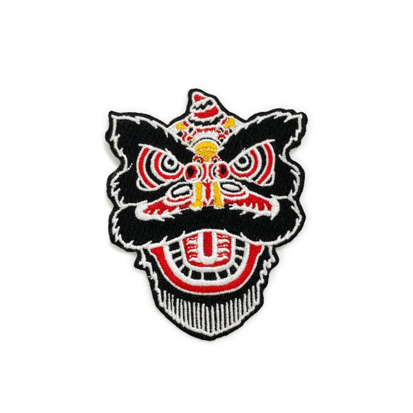 Lion Dance Iron-On Patch