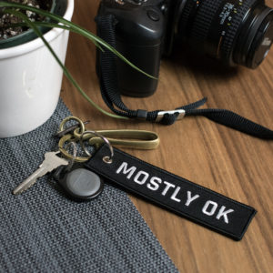 Mostly Okay Keyring