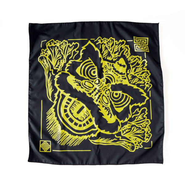 Chinese Lion Dance Bandana