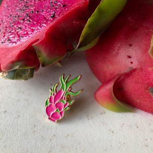 Dragonfruit pin