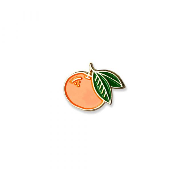 Mandarin Orange Enamel Pin