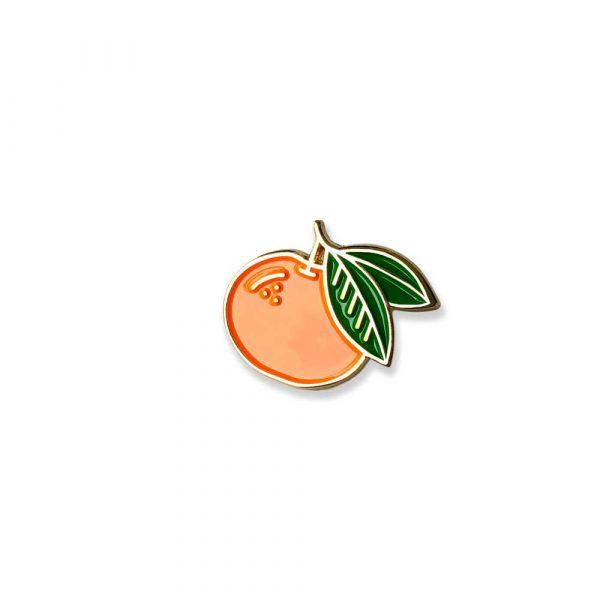 Mandarin Orange Enamel Pin